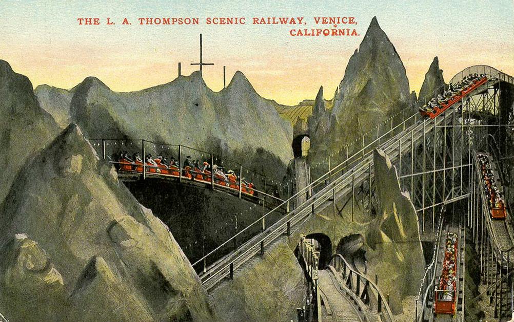 Venice California rollercoaster