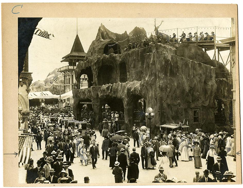 Venice, California scenic railway rollercoaster, c. 1910